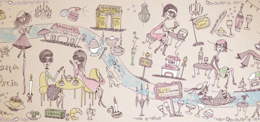 z mapas les cafés de paris - joana faria