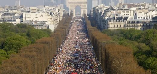Maratona de Paris - 2010