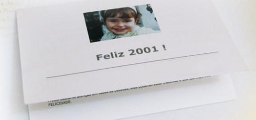 Mensagem de fim de ano - 2001